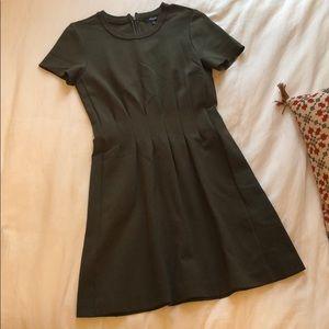 pleated madewell dress